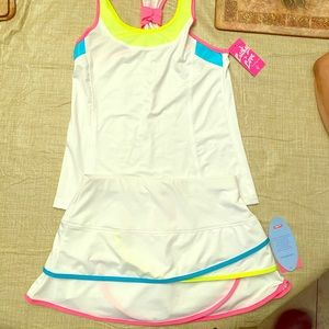 LUCKY LOVE girls athletic outfit